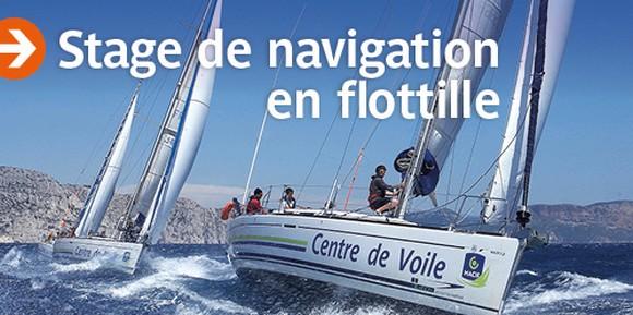 stage de navigation en flotille